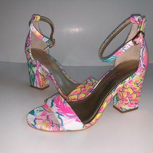 LILLY PULITZER Sandals Amber Lynn Fiesta Bamba 6